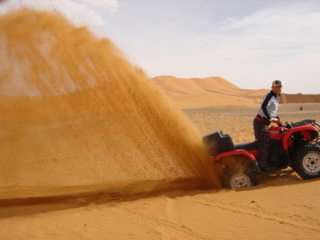 Merzouga quad excursions