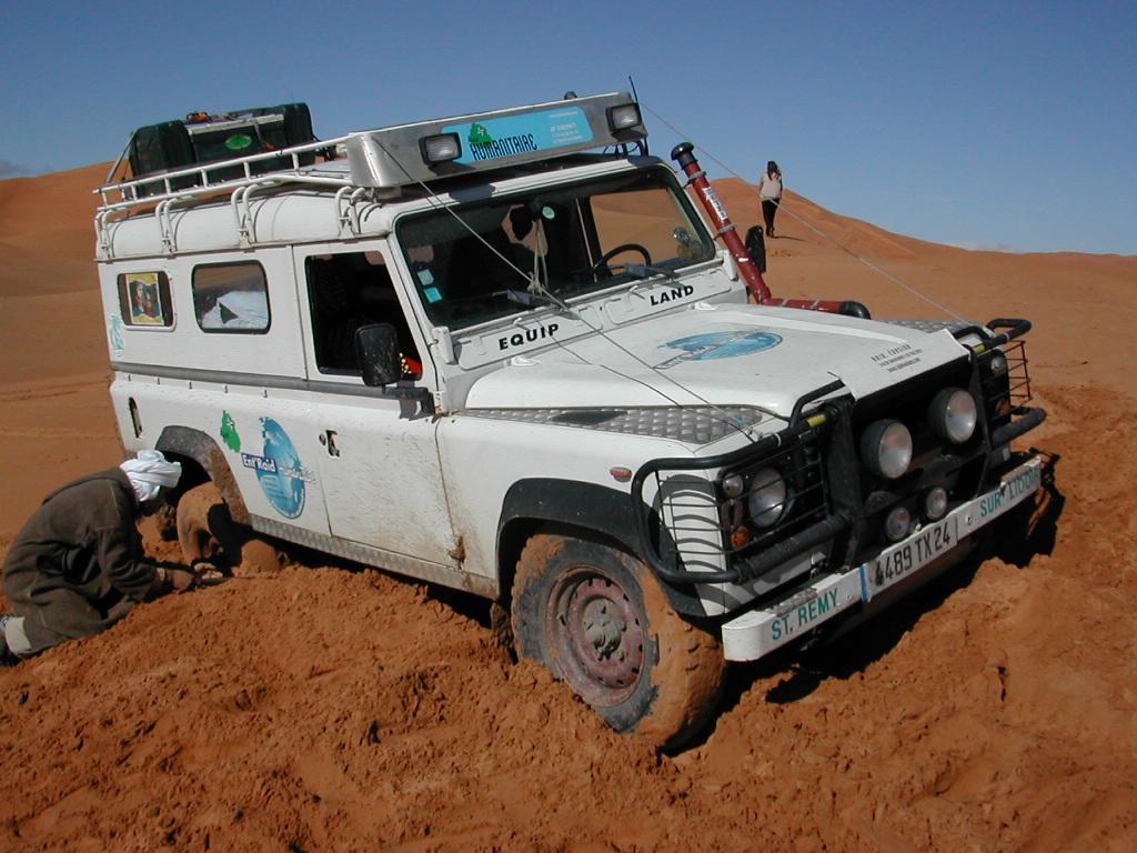 Stage de conduite 4x4 au dunes d'ergchebbi